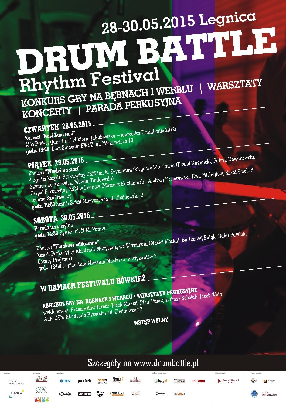 Plakat Drumbattle